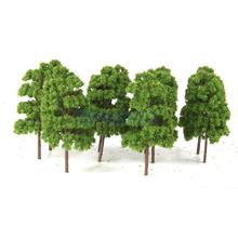 10PCS Tree Model Train Railway Wargame Diorama Architecture Layout 1:75 HO