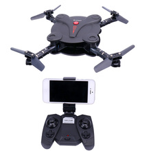 RC Quadcopter X18 Drones With Camera FPV WiFi Phone Control Altitude Hold Foldable Dron Folding Drone Remote Control Helicopter(China)