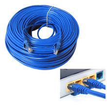 VONETS 30m RJ45 Cat5 Ethernet LAN Network Ethernet Cable for PC Internet for Computer Modem Router Accessories Gadgets