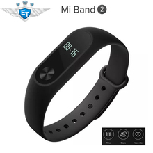 Global Version Xiaomi Mi Band 2 Miband 2 Smartband OLED Display Touchpad Heart Rate Monitor Bluetooth 4.0 fitness Tracker CE
