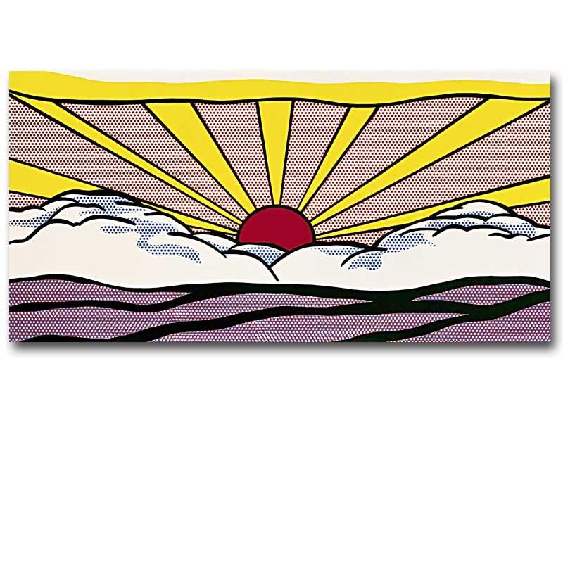 Roy Lichtenstein, Sunrise