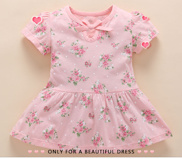 Floral bow dress (1)