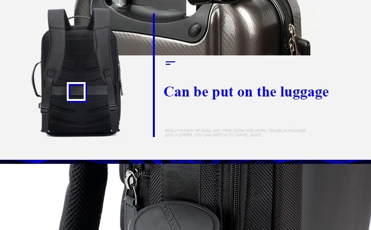 5162fb6bb502 Compre BOPAI Elegante Cuero Plecak Para Hombres Moda Mochila Para ...