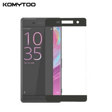 XA 3D 9H 0.3mm Full Cover Tempered Glass For Sony Xperia XA F3111 F3112 5'' Toughened LCD Film Explosion Proof Screen Protector(China)