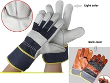 High quality welding gloves Protective wear-resisting High temperature resistant cowhide Work gloves
