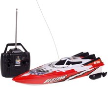 Buy 2018 Radio Remote Control Dual Motor Speed Boat RC Racing Boat High-speed Strong Power System Fluid Type Design rc Toys Boys for $18.74 in AliExpress store