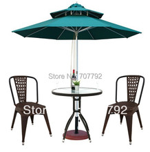Simple Desgin outdoor Rattan chair and table