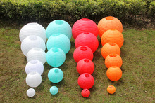 6inch=15cm Round Chinese Paper Lantern for Birthday Wedding Party Decoration gift craft DIY favor Wh