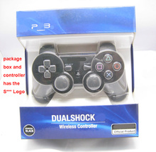 New Wireless Bluetooth Controller Gamepad Joystick For Playstation3 SixAxis joystick Black With Package