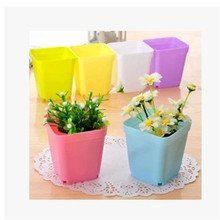 2017 hot sale Garden Supplies Hollow Out Home Garden Pots and Planters Plastic Flowers Pot J10
