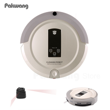 New Technological Robot Vacuum Cleaner Rechargeable Vaccum Cleaner A325 Household Vacuum Full Go Robotic Aspirador(China)