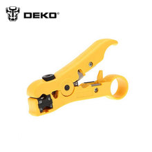 DEKO Punch Down Network UTP Cable Cutter Stripper Scissors Tool Multifunctional Knife Wire Stripper(China)
