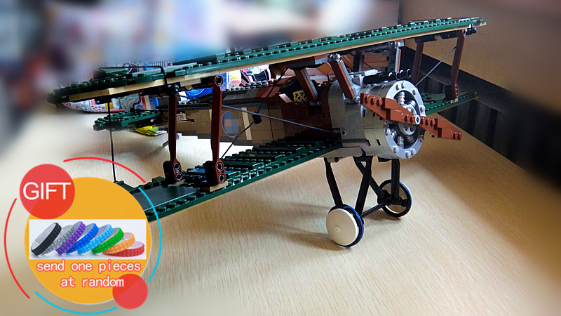 21021 953Pcs Technical Series The Camel Fighter Set Children Educational Building Blocks Toys Model Compatible with 10226 lepin<br>