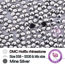 mine silver rhinestones SS6 SS10 SS16 SS20 SS30 in a lot very shiny and light CPAM free(China)