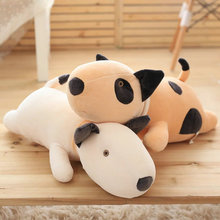 55cm Cute Stuffed Soft comfy plush pillow Cushion pacify Doll For Children Wholesale baby doll Cow Plush Toys  white/brown