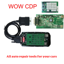 2017 Hot sale product  WOW  SNOOPER cdp pro with V5.008 R2 +KEYGEN gift without bluetooth Diagnostic scanner