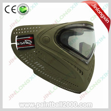 SPUNKY Tactical Airsoft Mask Anti Fog Paintball Mask with Dye I4 Thermal Lens(China)