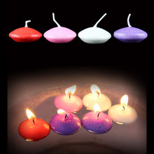 6pcs/lot Floating Candles Expressing Love Artifact Decor Candle Craft for Making Proposal Decoartion&Lighting Party candles(China)