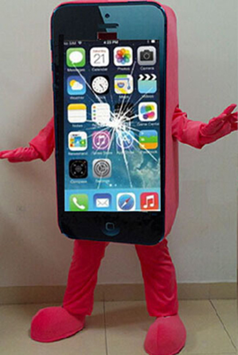 2014Hot-sale-Mascot-Costume-Cell-Phone-Apple-iPhone-5C-Adult-Size (1)