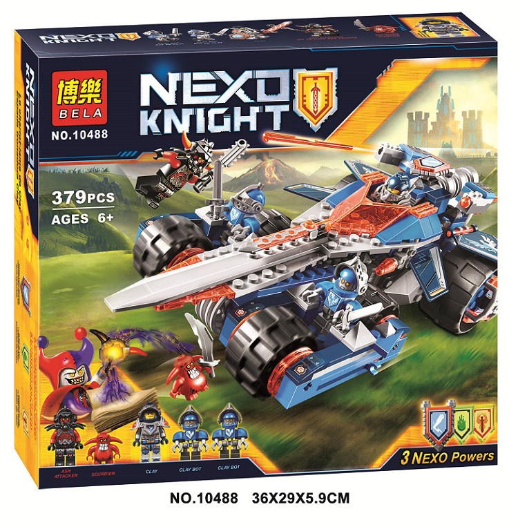 LEPIN 14012 Nexus Knights Clays Rumble Blade Jestro Clay Building Block Scurrier Compatible with Lepin Kazi Bela gift 70315<br><br>Aliexpress