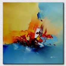 Canvas painting ideas abstract oil painting for living room beautiful decoration wall pictures for friends gift