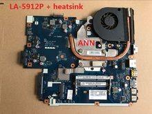FOR ACER Aspire 5552G 5551G Laptop motherboard NEW75 LA-5912P + heatsink= LA-5911P MB.BL002.001 (MBBL002001) DDR3