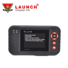 Launch OBD2 OBDII Diagnostic tool Launch X431 Creader VIII X431 Creader 8 Car Scanner Support 4 Systems(China)