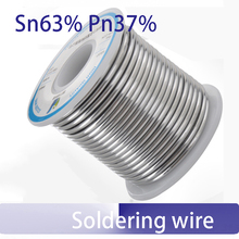 450g Sn63% Pb37% low melting point soldering wire Solder tin wire 63/37 0.5 0.8 1.0 1.2 1.5 2.3mm with rosin(China)