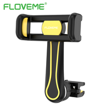FLOVEME 360 Degree Rotation Long Pole Air Vent Car Phone Holder For iPhone X 8 6 6S 7 Plus Mobile Phones Vehicle Mount Bracket
