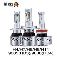 hlxg 2PCS G8 36W 12000lm 9005 HB3 HB4 H4 LED H7 H11 Auto Car Lights 6500K Automobiles Headlights LED Bulb XHP50 Conversion Kit(China)