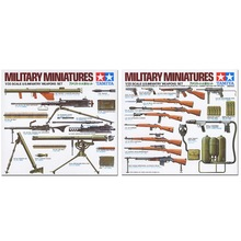 OHS Tamiya 35121 1/35 US Infantry Weapons Set Assembly Military Miniatures Model Building Kits