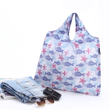 Small Fish Custom Shopping Bag Promotional Grocery Tote Bag Available for Custom Bags(China)