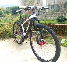 4 colors    carbon mountain bicycle ,26/27.5*2.1 inch tires,  24/27/30 speed, carbon fiber bike  ,27.5er carbon  bike