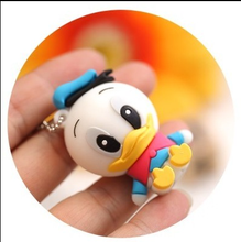 New Cute duck USB Flash Drive high quality 1gb 2gb 4gb 8gb 16gb 32gb Pendrive Cartoon usb stick 50pcs/lot