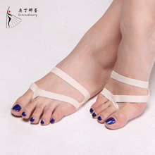 Professional Belly Ballet Dance Toe Pad Practice Shoes Foot Thongs Protection Dance Paws Costume Gaiters Accessories Sole BX0904(China)