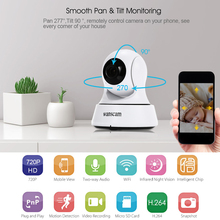 Buy Wanscam Wireless Mini IP Camera WIFI 720P Night Vision CCTV Camera Home Security Surveillance Camera Baby Monitor for $23.98 in AliExpress store