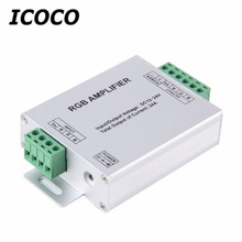 ICOCO Top Sale LED RGB Amplifier 24A LED Controller DC12-24V for 5050 3528 RGB LED Strip Light Worldwide Store Hot Sale
