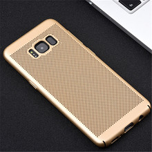 Luxury Hard Back Plastic Matte Case For Samsung Galaxy S8 S7 Edge Hard Cover Heat Dissipation For Samsung S8 Plus 360 Full Cover
