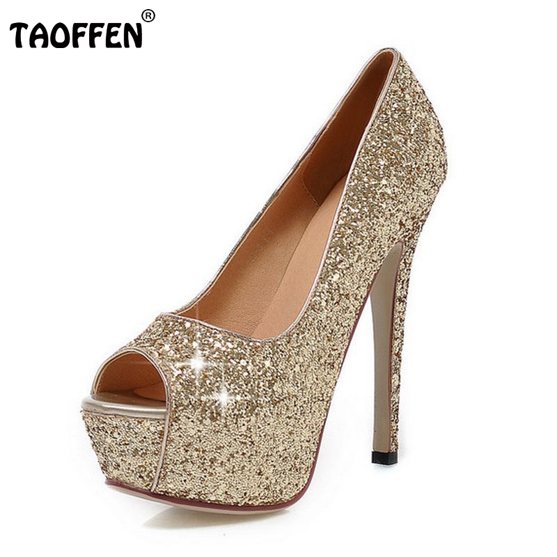 women peep open toe high heel shoes platform party sexy lady quality footwear fashion heeled pumps heels shoes size 32-43 P18133<br><br>Aliexpress