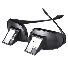 Funny Lazy Periscope Horizontal Reading TV Sit View Glasses On Bed Lie Down Bed Prism Spectacles The Lazy Glasses(China)