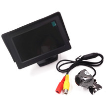 New 4.3 inch Digital TFT LCD Car Video Monitor Camera + Car RearView Reverse Backing CMOS Camera