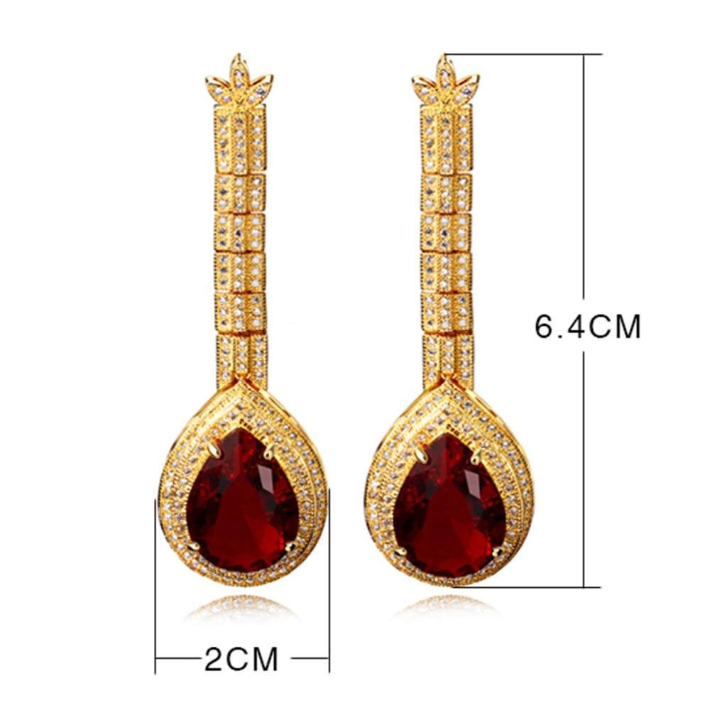big water drop stone earrings (18)