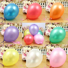 Colorful 100pcs/pack 10 inch Ballons Office School Party Supplies Student Kid Toys Fashion Gift - SB-Store store