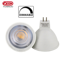 1PCS GU10 MR16 dimmable LED Bulb 6W 220V Led Lamp GU Lampada LED Condenser lamp Diffusion spot light Energy Saving Home Lighting