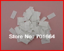 500PCS 1.8cm*3.5cm white rectangle felt pads for hair clips,felt applique for DIY Hairbands,rectangle non-woven patches