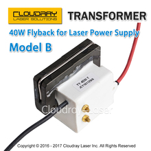 High Voltage Flyback Transformer for CO2 40W Laser Power Supply Model B