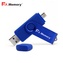 Dr.Memory OTG USB Flash Drive Metal Smart Phone Pen Drive 8gb 16gb 32gb Flash Drive For Android memory stick Mini OTG Pendrive