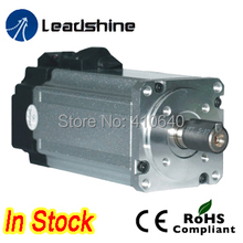 Leadshine ACM604V60-30 400W Brushless AC Servo Motor with 1000 Line Encoder and 4,000 RPM   Speed