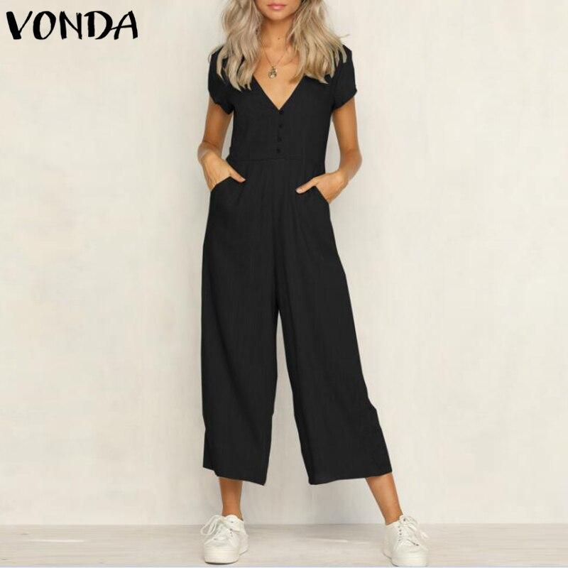 Detalle Comentarios Preguntas sobre VONDA más tamaño mujeres Rompers ... 1757bbdf6d8f