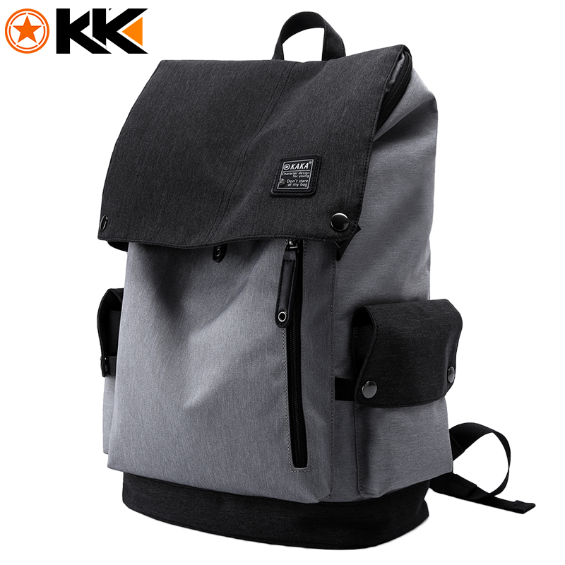 KAKA 15.6 Inch Men Anti-theft Laptop Backpack Oxford Mochila School Bag for Teenagers Waterproof Large Capacity Male Backpacks<br>